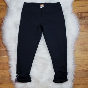 Lucy Powermax Ruched Side Cropped Legging